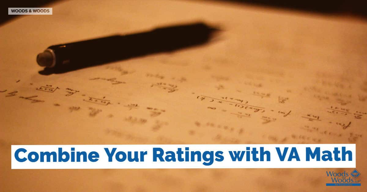 Doing VA Math Using the VA Combined Ratings Table for VA